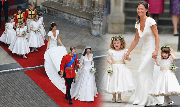 82a83d0d588 AS KENSINGTON Palace announces the bridesmaids and page boys for the Royal  wedding this Saturday