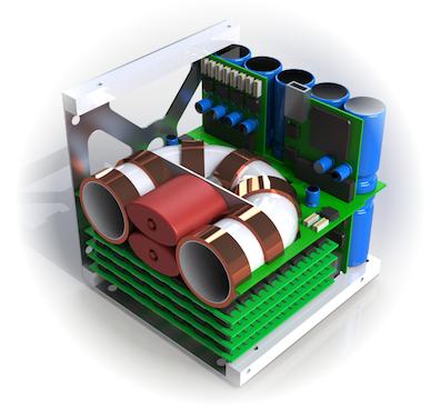 Magdrive prototype render